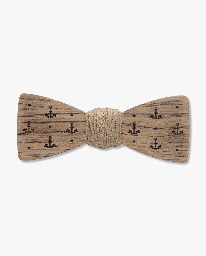 дървена папионка джак