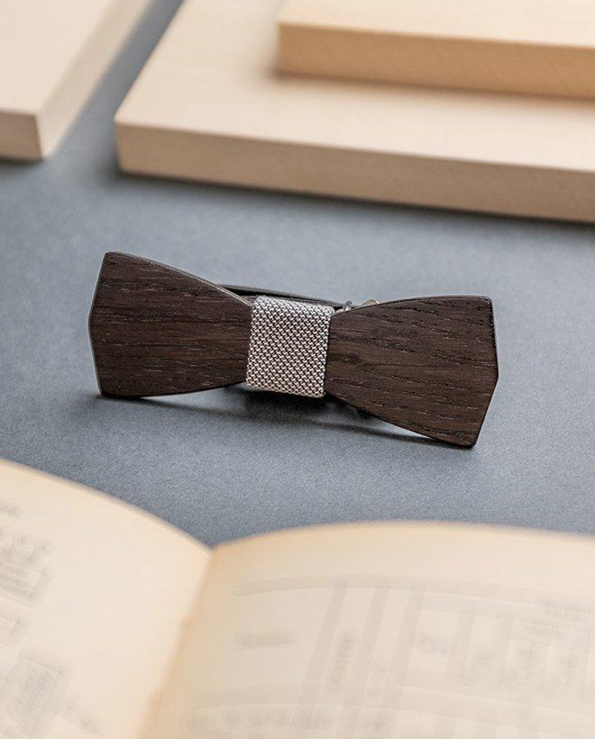 дървена папионка Шерлок Холмс