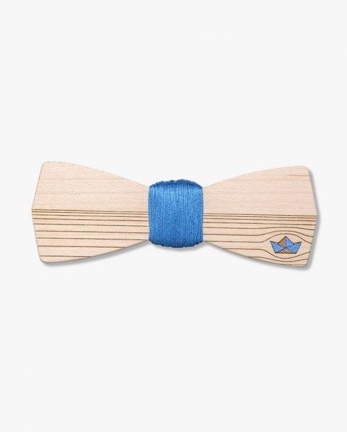 дървена папионка лодка море лято