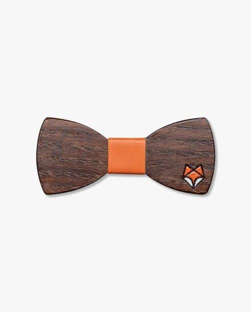 дървена папионка лисица