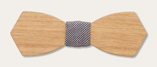 дървена папионка дърварт