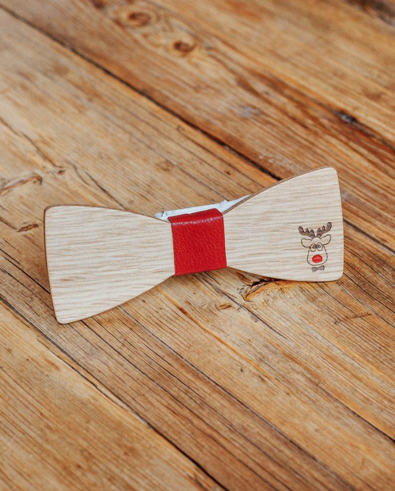 дървена папионка елена Рудолф