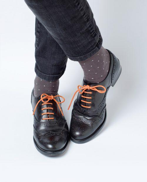 комплект мъжки чораи връзки обувки