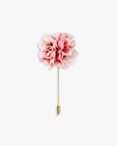 розово цвете игла ревер