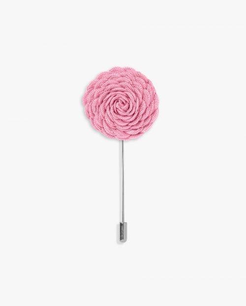 игла ревер розово цвете