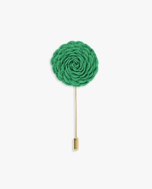игла ревер зелено цвете