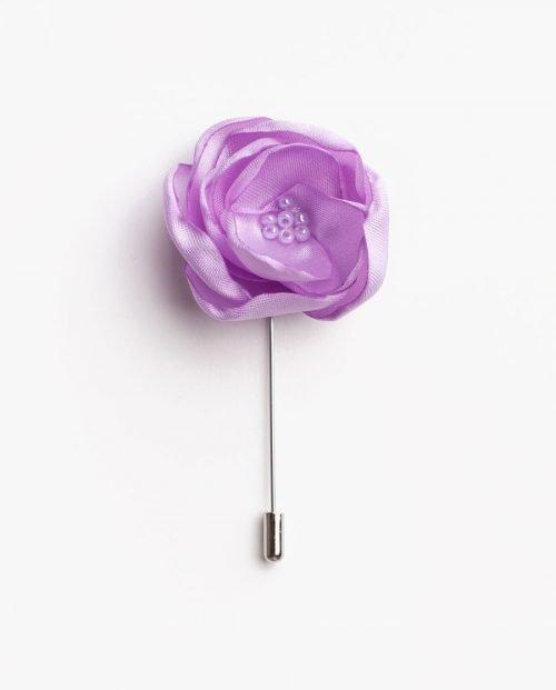 игла ревер светлолилаво цвете