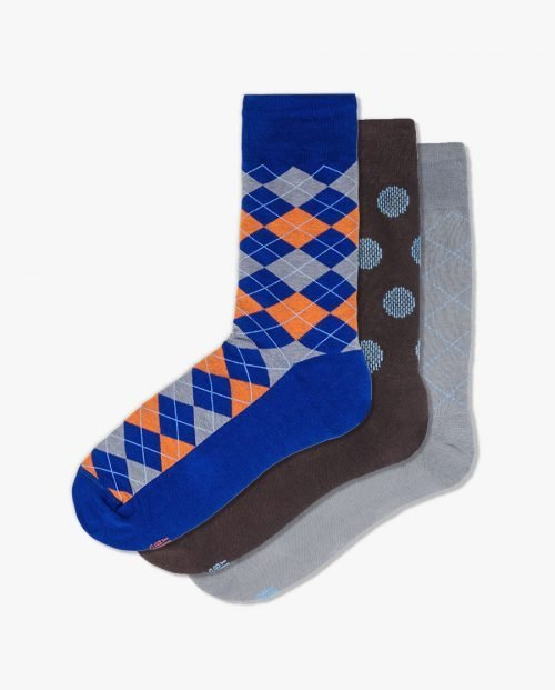 комплект качествени шарени чорапи подарък