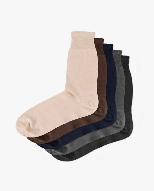 комплект качествени едноцветни чорапи подарък