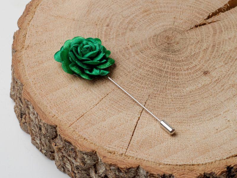 игла ревер роза зелена дърварт
