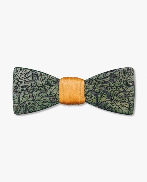 зелена дървена папионка листа дърварт