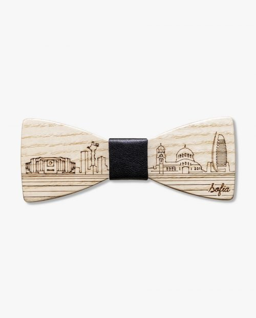 дървена папионка софия столица пейзаж