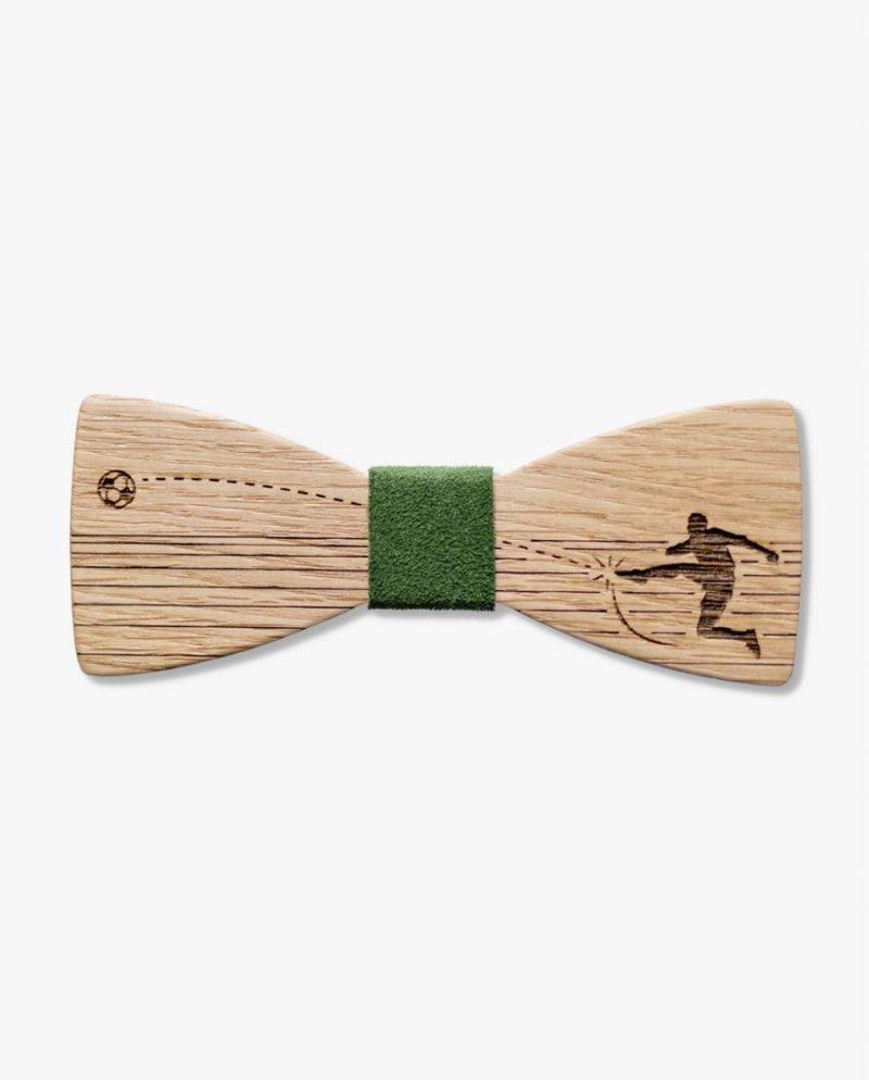 подарък футболен фен папионка дърварт