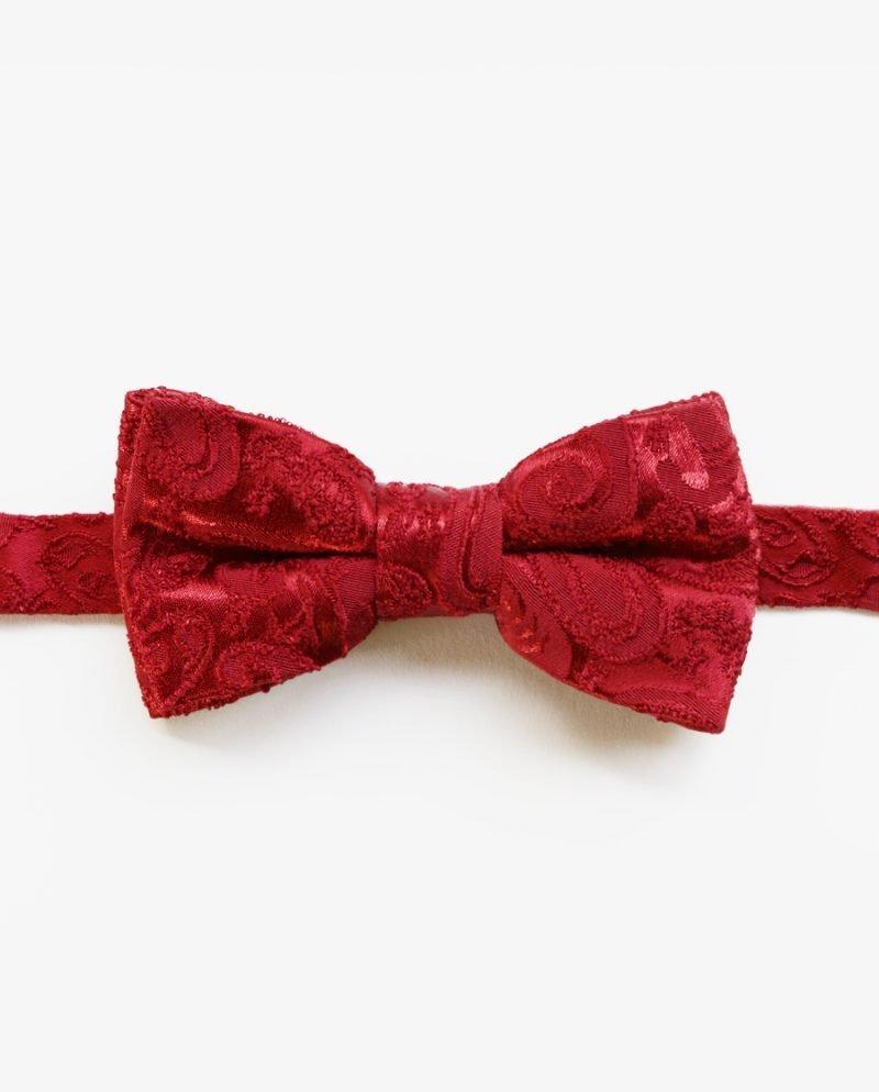 класическа червена папионка плат дърварт
