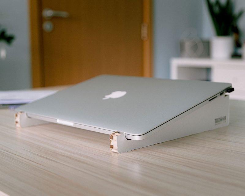уникална стойка лаптоп хартия дърварт