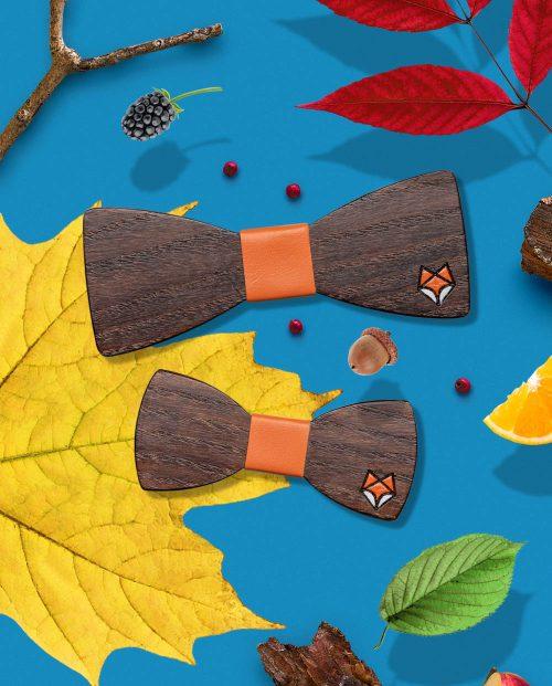 кафява дървена папионка лисица дърварт
